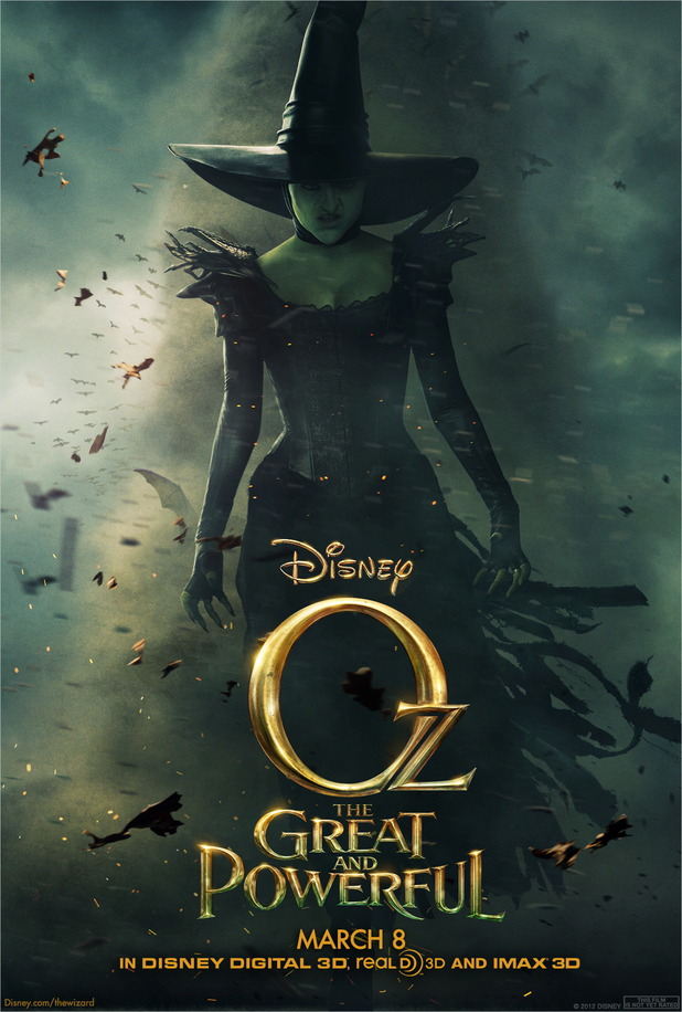 Oz the Great and Powerful The Wicked Witch of the West Mila Kunis