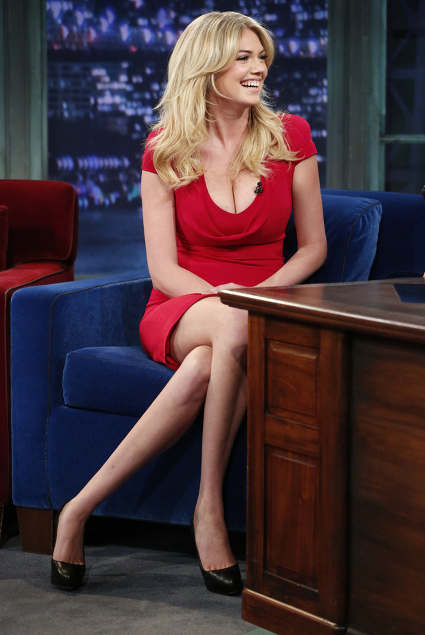 Kate Upton, Late Night with Jimmy Fallon