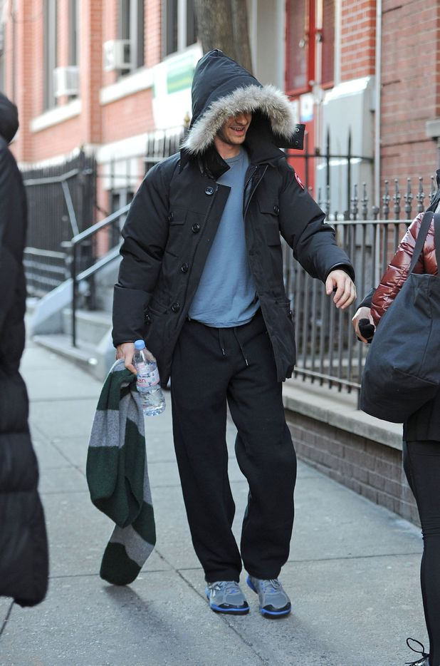 Andrew Garfield in New York