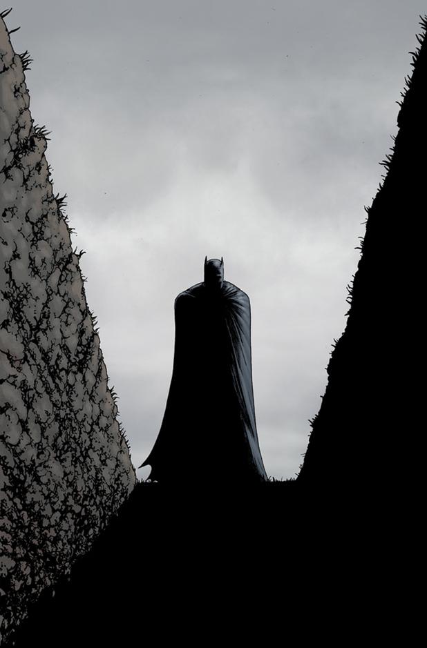 Chris Burnham's cover for 'Batman Inc #9'