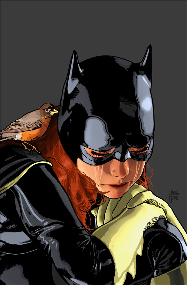 Mikel Janin's cover for 'Batgirl #18'
