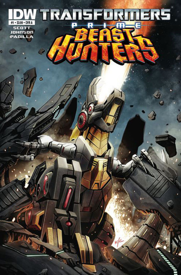 Transformers Prime: Beast Hunters cover design