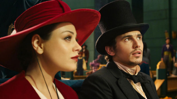 Sam Raimi's action adventure chronicles the origin story of the Wizard of Oz (James Franco).