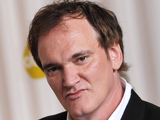 Quentin Tarantino with his 'Best Original Screenplay' Oscar