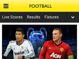 &#39;BBC Sport&#39; screenshot