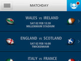 &#39;O2 Matchday&#39; screenshot
