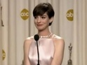 Anne Hathaway gets emotional while discussing her 'Best Supporting Actress' win.
