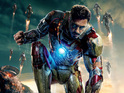 Tony Stark (Robert Downey Jr) is shown under attack in latest preview of Iron Man 3.