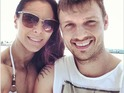 Nick Carter and fiancee Lauren Kitt
