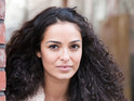 Anna Shaffer tells us about the fallout from Ziggy and Frankie's fling.
