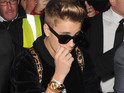 Bieber denies being turned away from a London venue for partying with minors like Jaden Smith.