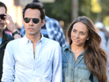 Marc Anthony spotted on a date with former Made in Chelsea star Chloe Green.