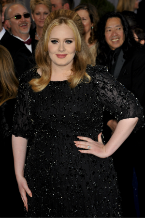 Adele at the Grammy Awards, 24 February 2013