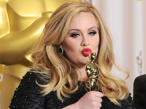 85th Annual Academy Awards Oscars, Press Room, Los Angeles, America - 24 Feb 2013Adele