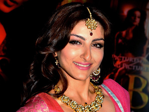Soha Ali Khan at a &#39;Sahib Biwi Aur Gangster&#39; first-look event in Mumbai