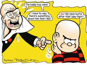 Harry Hill in The Beano