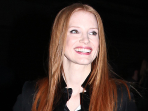 Jessica Chastain, Givenchy, Paris Fashion Week 2013