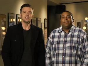 Justin Timberlake in 'SNL' promo.