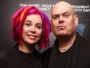The Matrix directors Lana and Andy Wachowski 