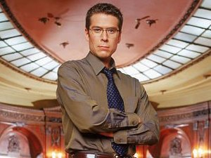 Alexis Denisof as Wesley Wyndham-Pryce in 'Angel'