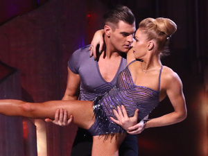 Matt Lapinskas and Brianne Delacourt dance their Bolero.