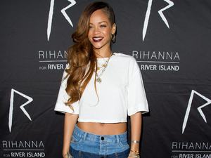 Rihanna, River Island, fashion launch