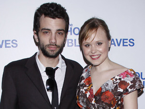 Jay Baruchel and Alison Pill Opening night after party for the Broadway production of &#39;The House Of Blue Leaves&#39; held at Sardi&#39;s restaurant New York City, USA - 25.04.11