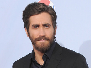 Jake Gyllenhaal arrives at the ALMA Awards on Sunday, Sept. 16, 2012, in Pasadena, Calif.