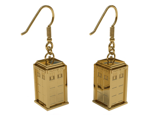 &#39;Doctor Who&#39; TARDIS earrings