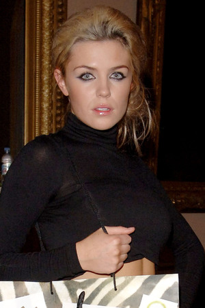 Abbey Clancy, Cricket Fashion Event