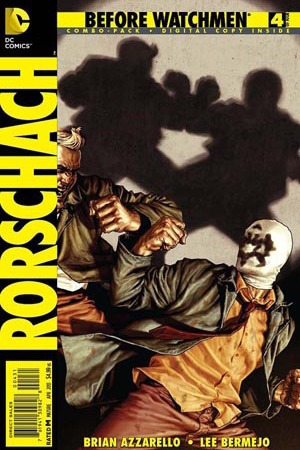 'Before Watchmen: Rorschach #4' cover artwork