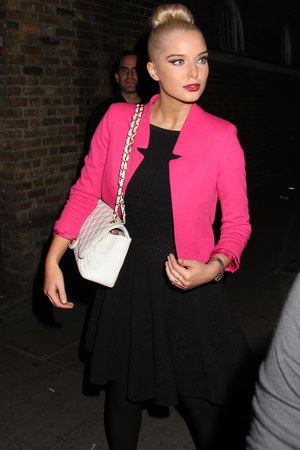 Helen Flanagan, Now magazine party