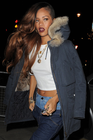 Rihanna, DSTRKT nightclub, Rihanna fashion launch, after party, London 