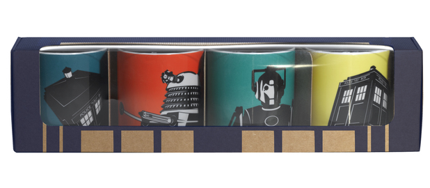 Doctor Who mugs