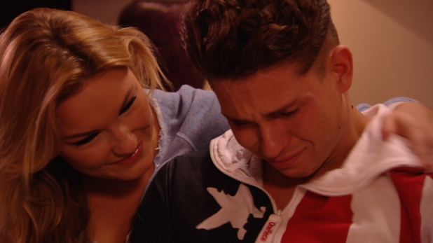 The Only Way is Essex (S04E08): Sam comforts and emotional Joey