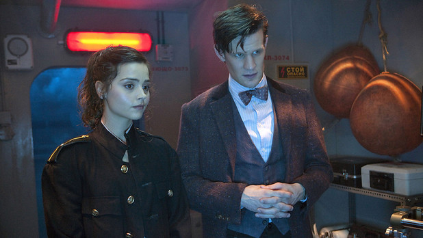 Doctor Who Series 7 sneak peek: Matt Smith and Jenna-Louise Coleman in Episode 3