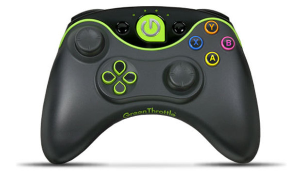 The Green Throttle gaming service controller