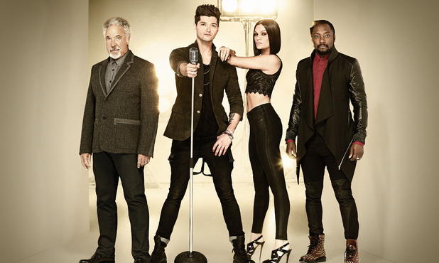 The Voice UK Season 2 judges