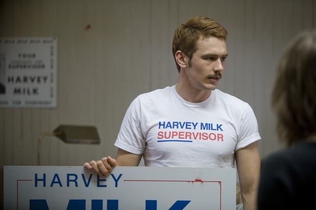 James Franco in 'Milk'