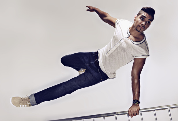 Louis Smith photo shoot for Men&#39;s Health magazine