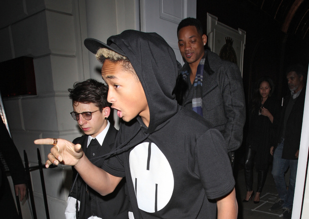 Jaden Smith, Will Smith, Sketch, London