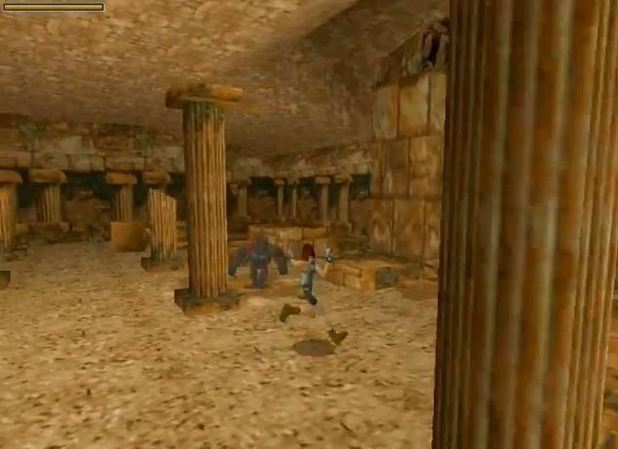 Tomb Raider (1996) screenshot