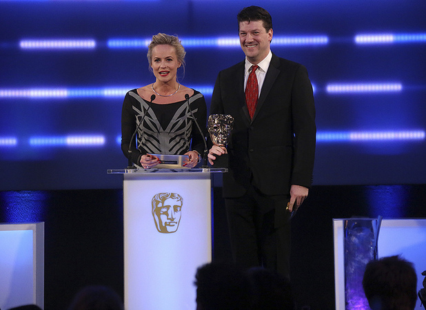 Pollyanna Woodward and Randy Pitchford