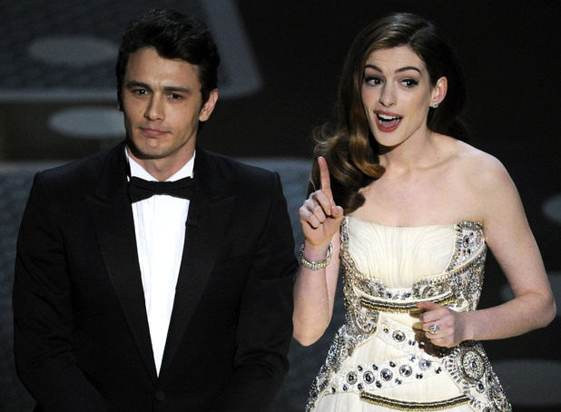 James Franco and Anne Hathaway hosting the Oscars 2011