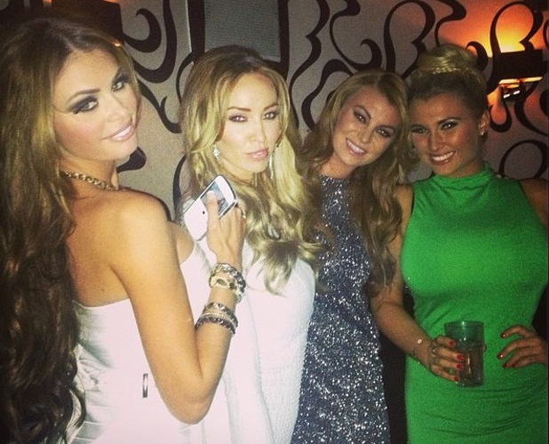 Chloe Sims, Lauren Pope, Billi Mucklow, Billie Faiers