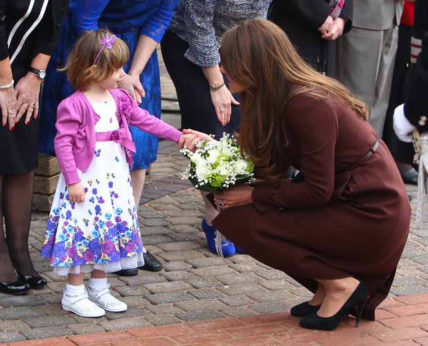 Catherine, Duchess of Cambridge arrives at Grimsby Fishing Heritage Centre Featuring: Catherine,Duchess of Cambridge,Kate Middleton Where: Lincolnshire, United Kingdom When: 05 Mar 2013 Credit: WENN.com