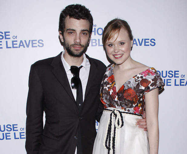Jay Baruchel and Alison Pill Opening night after party for the Broadway production of 'The House Of Blue Leaves' held at Sardi's restaurant New York City, USA - 25.04.11