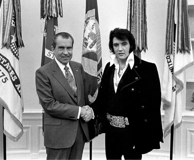 Richard Nixon, Elvis Presley, 1970