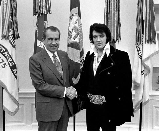 Richard Nixon, Elvis Presley, 1970