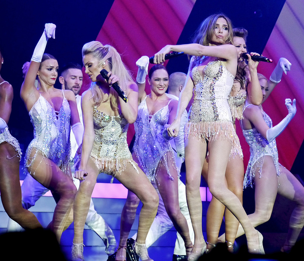 Girls Aloud, Ten tour, London O2 Arena